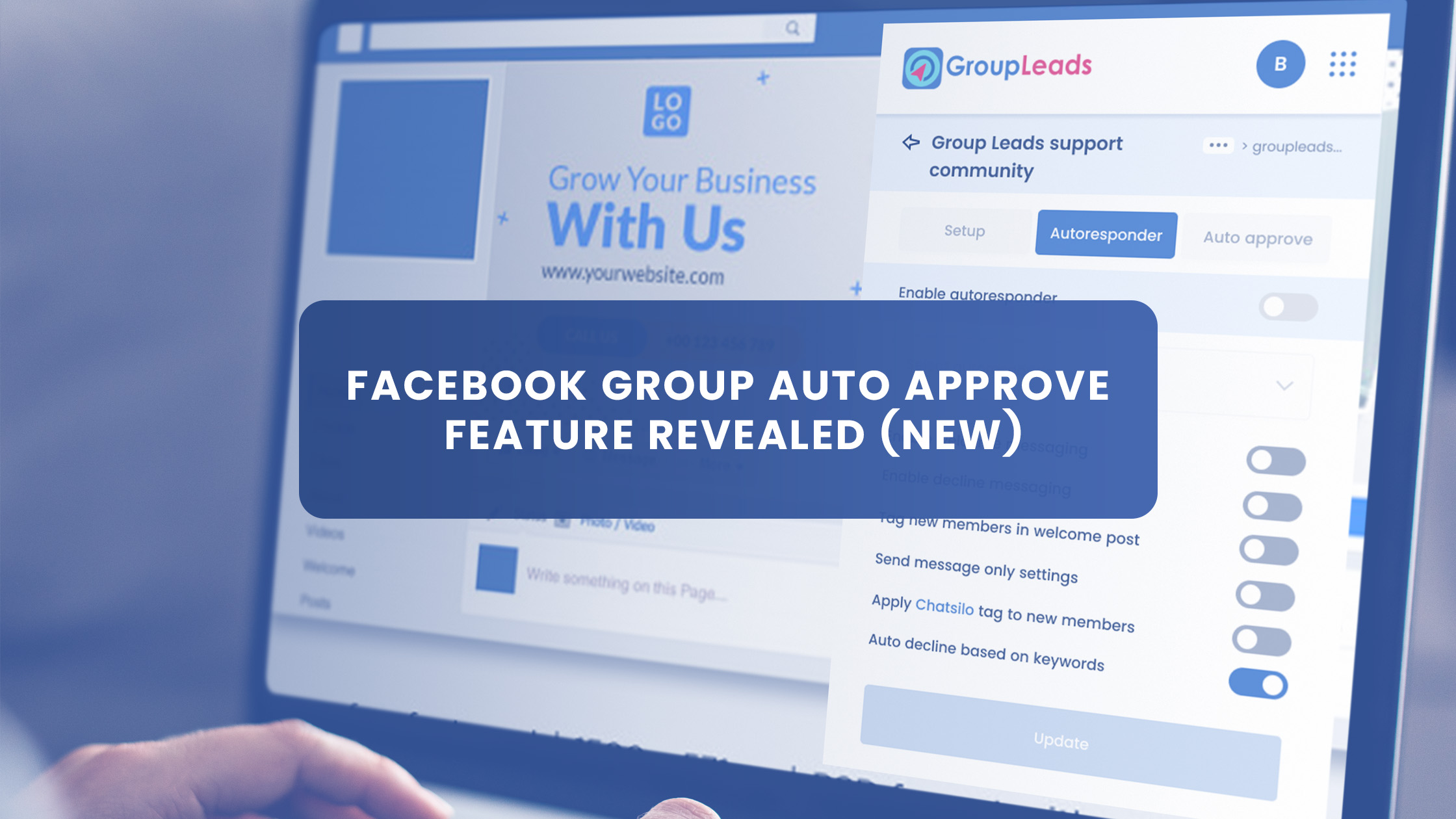 Facebook Group Auto Approve Feature Revealed (NEW)