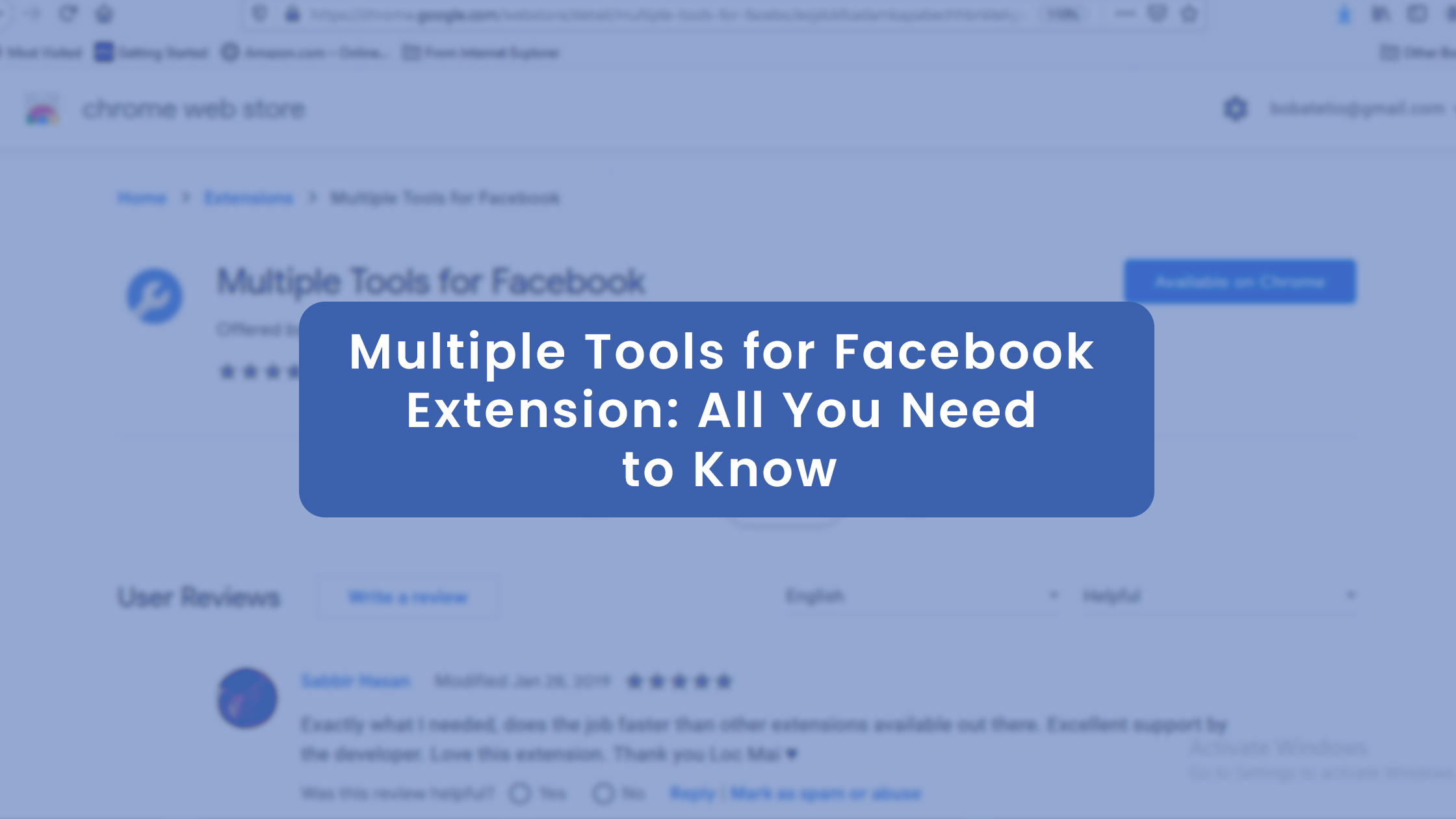 Multiple Tools for Facebook extension_All You Need to Know
