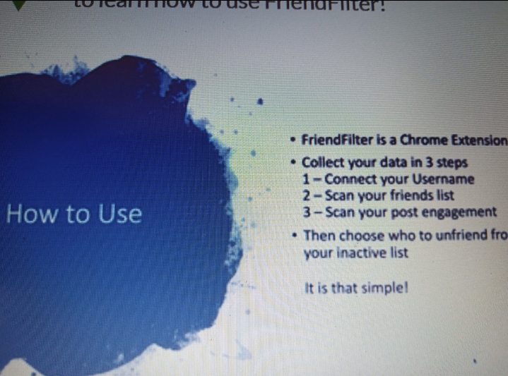 How to use FriendFilter